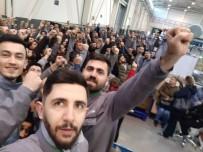 FABRIKA - Bursa'daki Otomotiv Yan Sanayi Fabrikasında İşçiler Ayaklandı