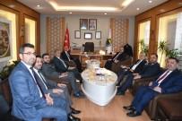 Bursa Valisi Canbolat'tan Başkan Taban'a Ziyaret