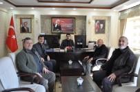 DERNEK BAŞKANI - Çatalçeşme Köyü Derneği Yönetiminden Kaymakam Coşkun'a Ziyaret