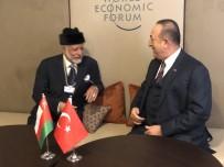 ÇAVUŞOĞLU - Dışişleri Bakanı Çavuşoğlu, Ummanlı Mevkidaşıyla Görüştü