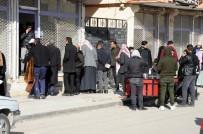 ŞANLIURFA - Haberi Duyan Suriyeliler Gümrük Kapısına Akın Etti