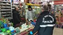 GÜVENLİK SİSTEMİ - Hırsız, Karakolun Yakındaki Marketi Soydu