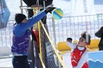 ÜLKÜ OCAKLARı - Kar Voleybolu Türkiye Şampiyonası Heyecanı Toroslar'da