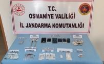 METAMFETAMİN - Osmaniye'de Uyuşturucu Operasyonuna 2 Tutuklama