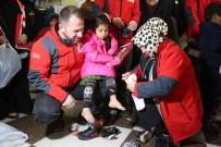 GENEL BAŞKAN YARDIMCISI - Sancaktepe Belediye Başkanı Şeyma Döğücü, İdlib'de İhtiyaç Sahiplerine Yardım Dağıttı