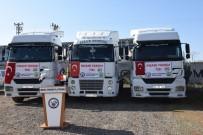 İNSANİ YARDIM - Şanlıurfa'dan İdlib'e 3 Tır İnsani Yardım