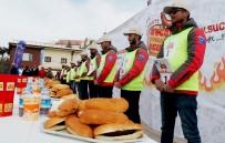 Türkiye'nin İlk Ve Tek Sucuk Ekmek Yeme Yarışması 'Sucukla Patla' Üçüncü Kez Yine Erciyes'te