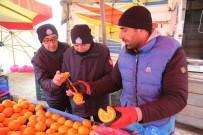 ZABıTA - Zabıta Ekiplerinden Donmuş Sebze Meyve Kontrolü