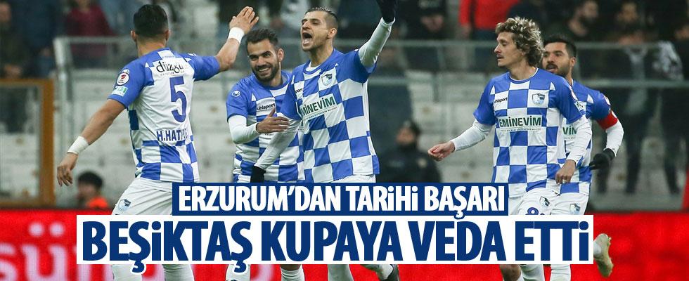Beşiktaş kupaya veda etti!