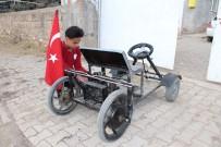 OKUL MÜDÜRÜ - 14 Yaşında Kendi Elektrikli Aracını Yaptı
