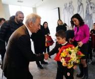 YOGA - Adnan Polat, Galatasaray Nusaybin Futbol Okulu'nun Öğrencileri Buluştu