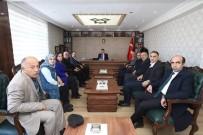 SINIR KAPISI - AK Parti Heyetinden Kaymakam Öztürk'e Ziyaret