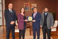 ALMANYA - Almanya Kültür Ataşesi Maren Hülskemper'den BŞEÜ'ye Ziyaret