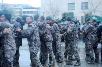 Polis Özel Harekata mehterli karşılama