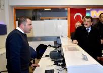SELAHATTIN GÜRKAN - Başkan Gürkan, Otobüs Terminalini Ziyaret Etti