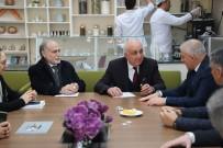Başkan Tuncay Şahin Darülaceze'yi Ziyaret Etti