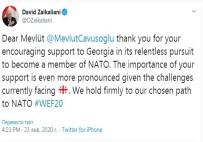 DÜNYA EKONOMİK FORUMU - Gürcistan Dışişleri Bakanı, Çavuşoğlu'na Teşekkür Etti