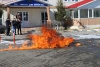 TATBIKAT - Kars'ta Polisten Gerçeği Aratmayan Tatbikat
