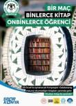 Konya'da '1 Maç, Binlerce Kitap, On Binlerce Öğrenci' Kampanyasına Destek Çağrısı