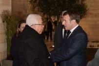 FILISTIN - Macron, Filistin Devlet Başkanı Abbas İle Görüştü