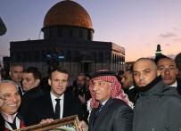 MESCİD-İ AKSA - Macron Mescid-İ Aksa'yı Ziyaret Etti