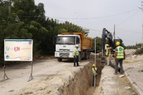 ŞEBEKE HATTI - MESKİ'den Karacailyas Mahallesine 9 Milyon TL'lik Kanalizasyon Hattı