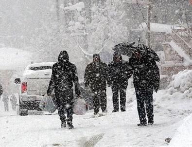Meteoroloji'den 7 ile yoğun kar yağışı uyarısı