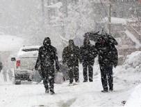 GÜNEYDOĞU ANADOLU - Meteoroloji'den 7 ile yoğun kar yağışı uyarısı