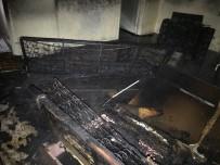 Metruk Binada Çıkan Yangın Korkuttu