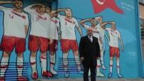 AVRUPA FUTBOL ŞAMPİYONASI - Milli Takım'ın Asker Selamı Kocaeli'de Ölümsüzleştirildi
