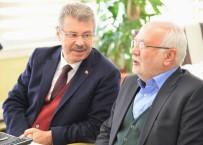 Önceki Dönem Ekonomi Bakanı Mustafa Elitaş Kayseri Şeker'de Temaslarda Bulundu