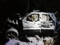 Otomobil Uçuruma Yuvarlandı Açıklaması Karı-Koca Hayatını Kaybetti