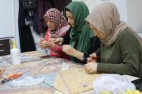 KARAKÖPRÜ - (Özel) Taşların Kraliçeleri Mozaikleri Yeniden Şekillendiriyor