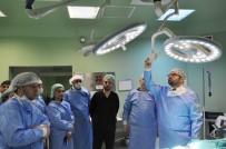 Sağlık İl Müdürü Bulut, KEA Hastanesinde Sterilizasyon Ünitesini Ziyaret Etti