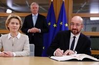 YASA TASARISI - AB Başkanları, Brexit Anlaşması'nı İmzaladı