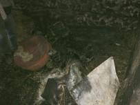 ANTALYA - Alanya'da 2 Katlı Müstakil Ev Küle Döndü