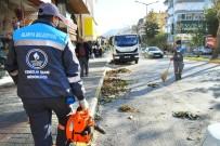 ŞİDDETLİ FIRTINA - Alanya'da Fırtına Sonrası Temizlik