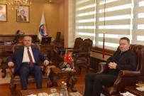 Avustralya Ankara Büyükelçisi Brown Mersin'de