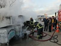 AKSARAY BELEDİYESİ - Barakadaki Yangın Az Kalsın Otomobili Yakıyordu