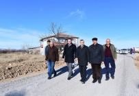 YOL ÇALIŞMASI - Başkan Çınar, Yol Açma Çalışmalarını İnceledi