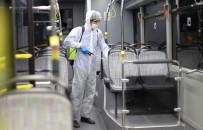 Büyükşehir Toplu Taşıma Araçlarında Grip Önlemi