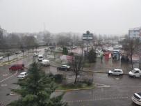 Çarşamba'da Kar Yağışı