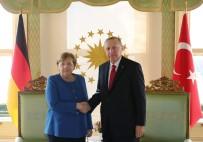 ALMANYA - Cumhurbaşkanı Erdoğan İle Merkel'in Görüşmesi Başladı