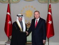 KUVEYT - Cumhurbaşkanı Erdoğan, Kuveyt Ulusal Meclis Başkanı Marzuk Ali El Ganim'i Kabul Etti
