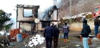 DEVLET HASTANESİ - Giresun'da Ev Yangını Açıklaması 1 Ölü