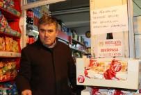 Hayır Sever Vatandaş Mahallelinin Bakkala Olan Borcunu Kapattı
