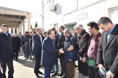 İçişleri Bakan Yardımcısı Çataklı'dan Tel Abyad Ve Resulayn'da İnceleme