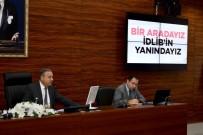 İNSANİ YARDIM - İdlib'e Destek Toplantısı Vali Su Başkanlığında Yapıldı