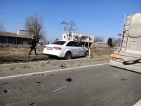 EDİRNE - İlçe Milli Eğitim Müdürü Trafik Kazası Geçirdi
