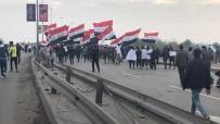 PROTESTO - Irak'ta Bu Kez ABD Karşıtı Protestolar Başladı